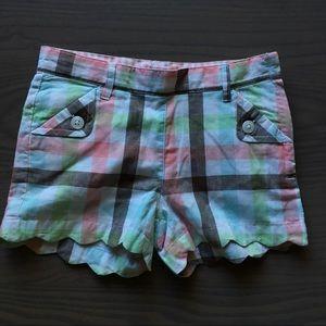 Janie and Jack GirlsPlaid Shorts 5T